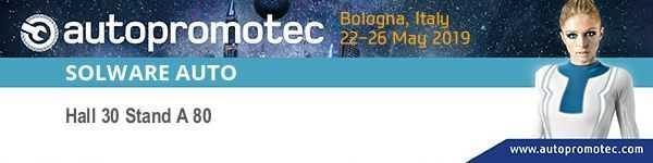 banner autopromotec bologna solware auto winmotor next