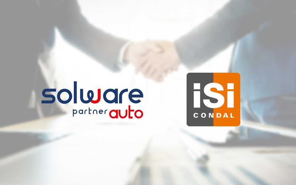 Solware Auto and isi condal partnership with our software for automotive sector